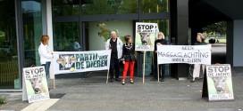 Protest Partij voor de Dieren in Zwolle