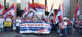 Protest bezuinigingen thuiszorg