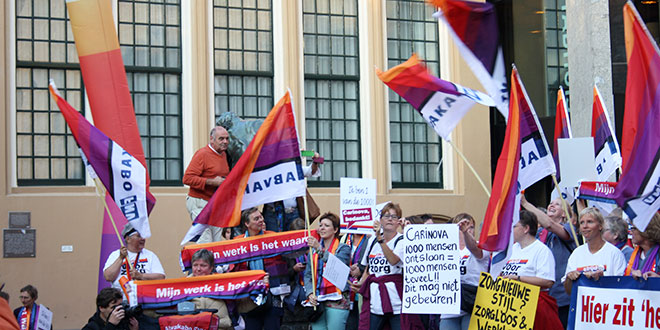 Protest Thuiszorg