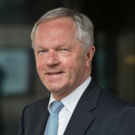 Burgemeester Henk Jan Meijer.