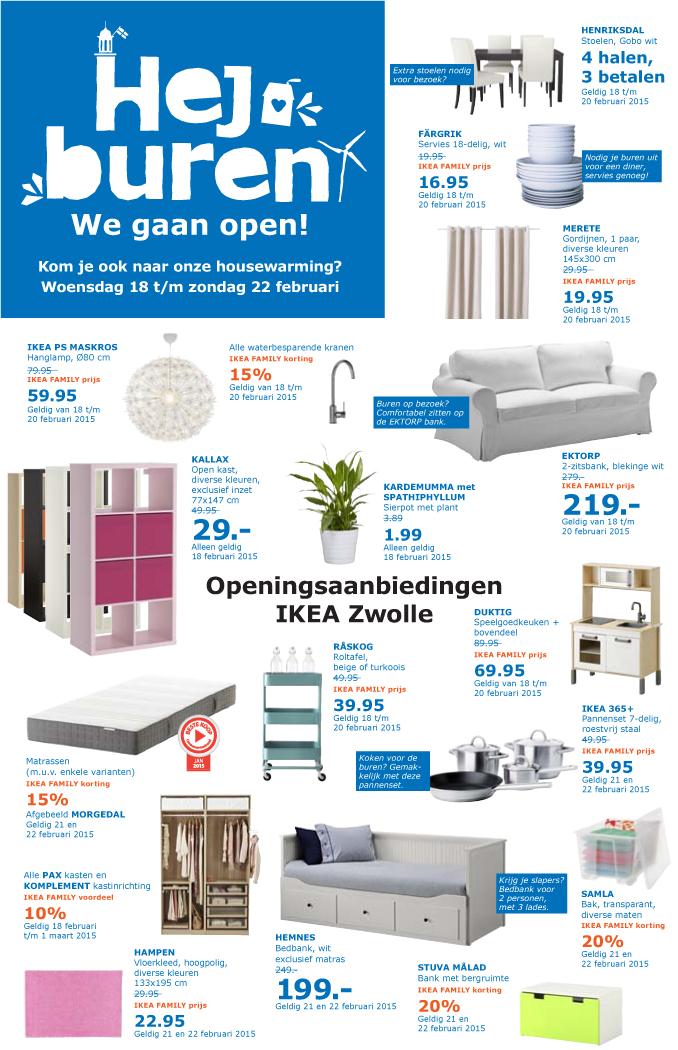 Ikea Zwolle Begint Met Aanbiedingen Op Openingsdag Zwollenu
