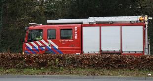 Woonwagen in Holtenbroek uitgebrand