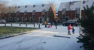 Sneeuw Zwolle