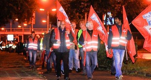 Grote staking bij Scania in Zwolle
