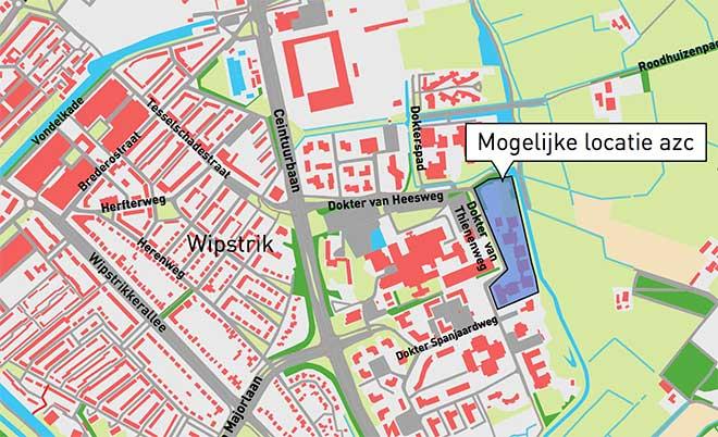 Locatie azc Zwolle