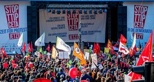 Demonstratie TTIP