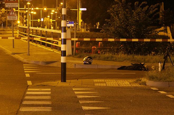 Motorrijder zwaargewond ongeluk Blaloweg