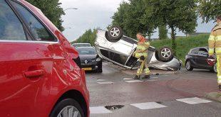 Ongeluk Stadshagen, bestuurder vlucht