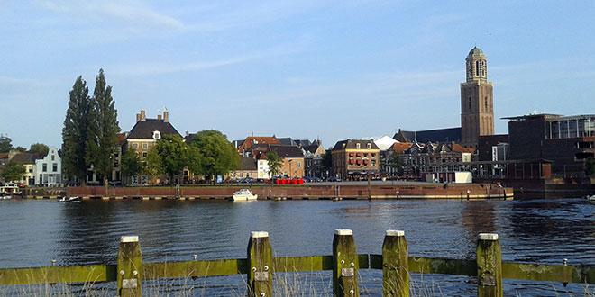 Zwolle krijgt strand bij het centrum