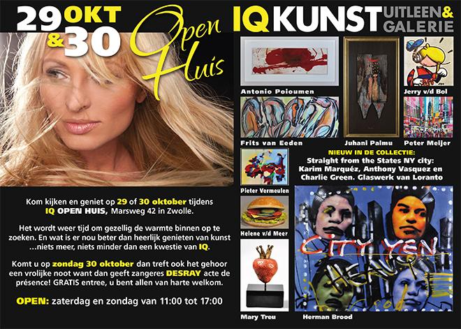 IQ Kunstuitleen Open Huis