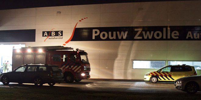 Brand Pouw Zwolle