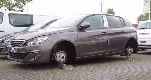 Banden gestolen Hyundai dealer Zwolle