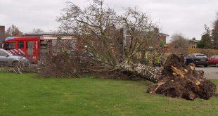Code geel in Overijssel wegens zware storm