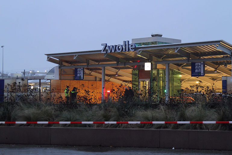 Verdachte koffer station Zwolle