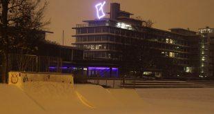 Sneeuw in Zwolle