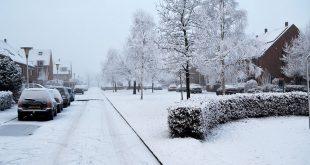 Code geel door sneeuw en gladheid