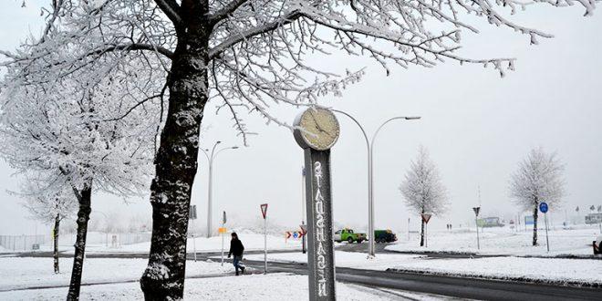 Sneeuw in Stadshagen