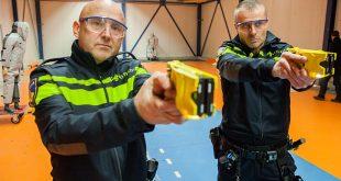 Politie Zwolle test stroomstootwapen