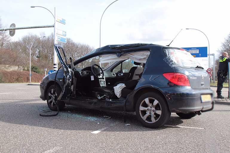 Ongeluk streekbus IJsselallee