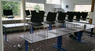 Ramen ingegooid VluchtelingenWerk Zwolle
