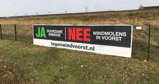 Windmolens Voorst, vlakbij Westenholte en Spoolde