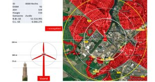 Onrust neemt toe over windmolens bij Zwolse woonwijken