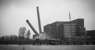 IJsselcentrale opgeblazen