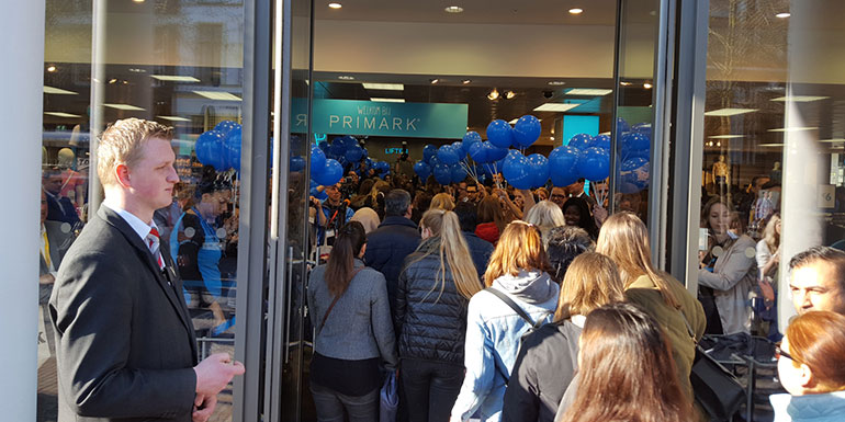 Opening Primark in Zwolle