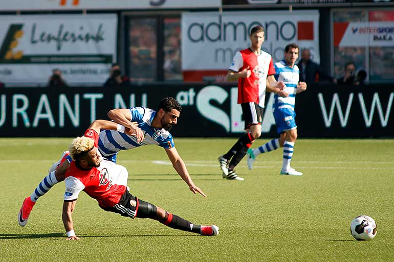 PEC Zwolle-Feyenoord 2-2