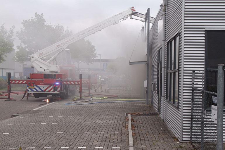 Brand Marslanden Zwolle