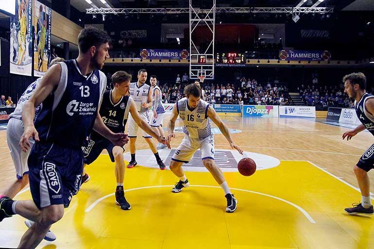 Landstede Basketbal ZZ Leiden