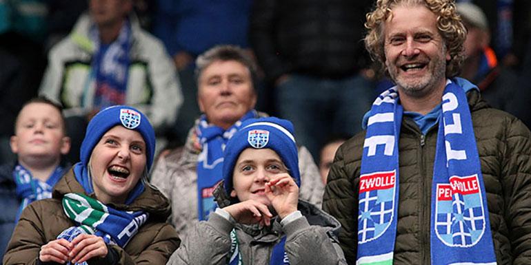 Zwolle gelukkig