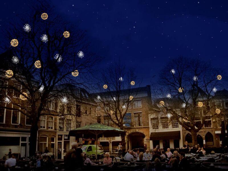 Binnenstad krijgt nieuwe verlichting in wintermaanden