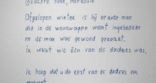 Anonieme brief Zwolle