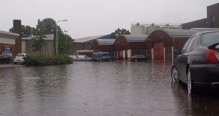 KNMI: Maandag vanaf 13.00 uur waarschuwing noodweer Overijssel