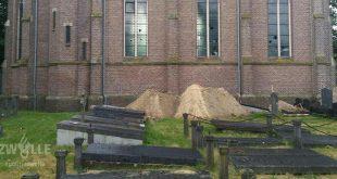 Vernielingen begraafplaats Zwolle