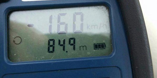 160 km per uur Heinoseweg