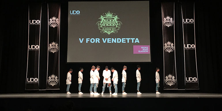 V for Vendetta DIFF Dance Centre