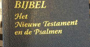 Bijbels uitgedeeld in Zwolle