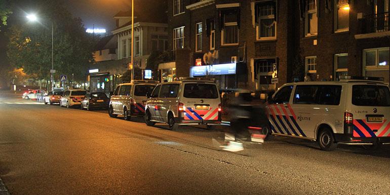 Eagles fans opgepakt station Zwolle