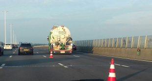 Ongeluk A28 file bij Zwolle