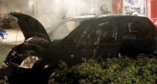Autobrand Zwolle Zuid