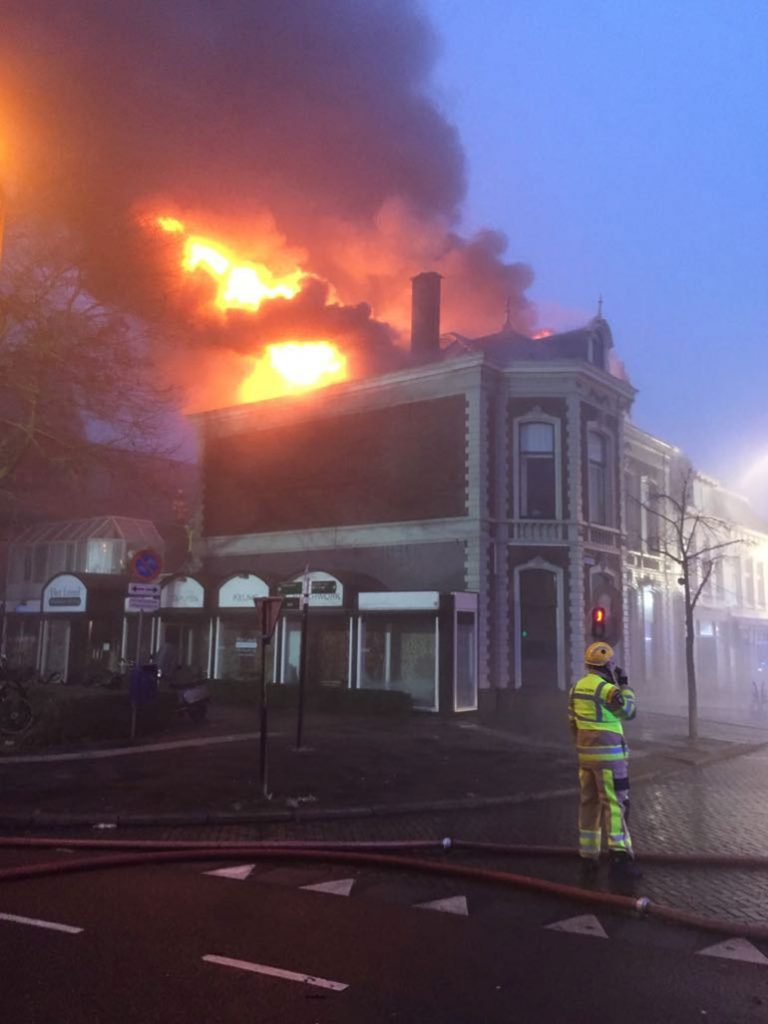 Brand Zwolle Diezerkade