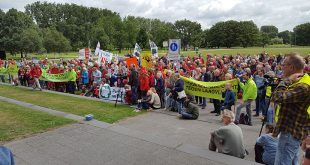 Protest Lelystad Airport