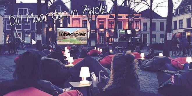 Openluchtbioscoop Lübeckplein