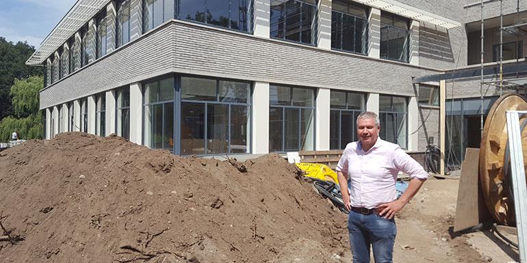 Gerrit Berends is projectleider van het Gezondheidscentrum Diezerpark