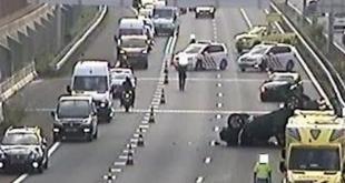 Ongeluk zorgt voor fikse vertraging op A28 bij Zwolle-Noord