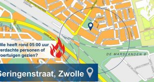 Brand Seringenstraat