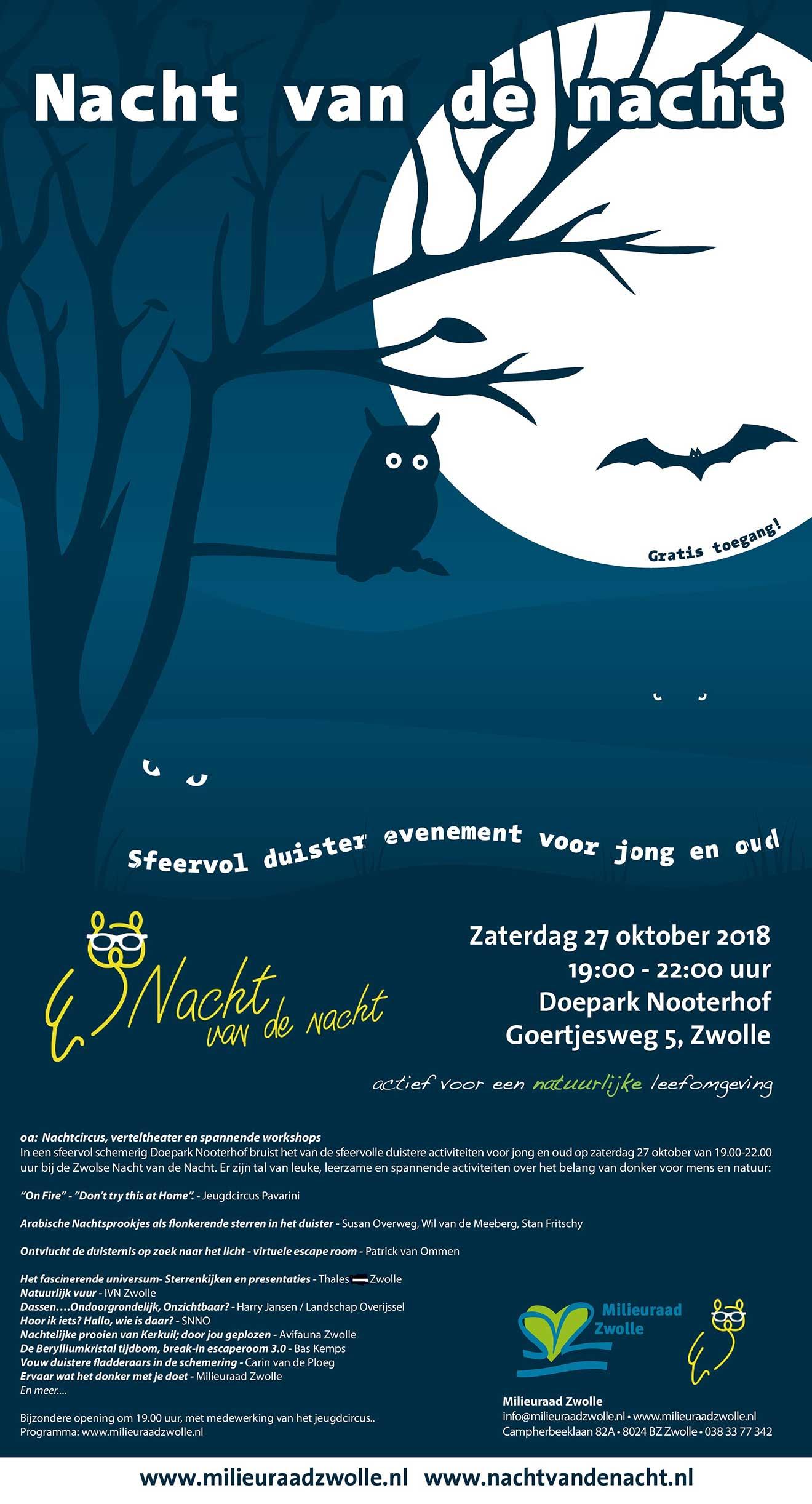 Nacht van de Nacht Zwolle