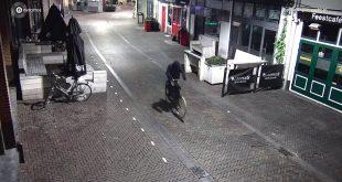 Man die granaat plaatste bij café Bruut gevolgd door camera's